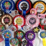 hen night rosettes