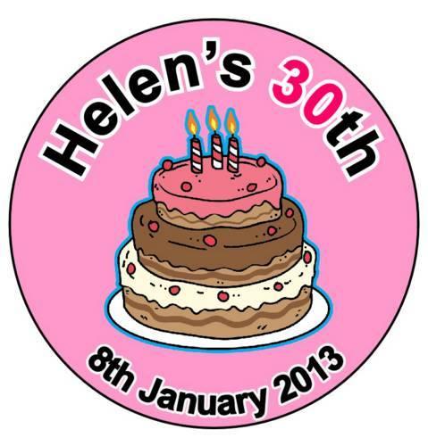 personalised birthday badges