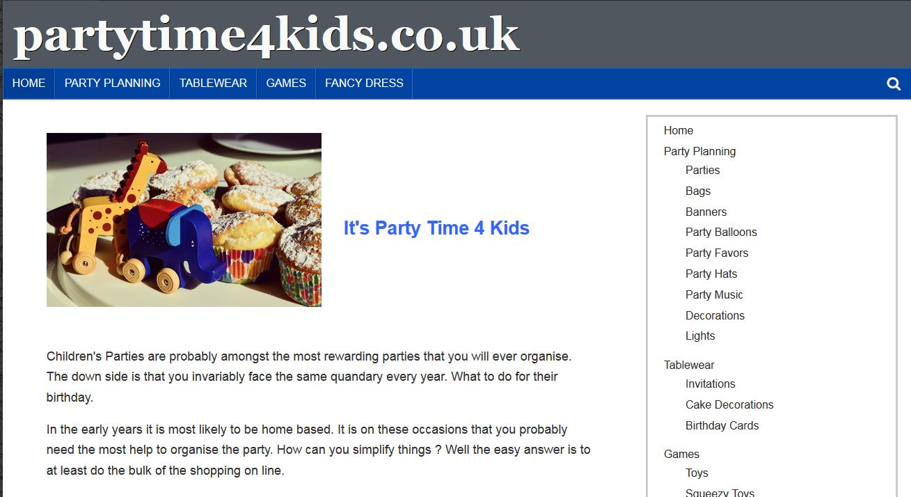 PartyTime 4 Kids